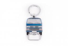 Flaschenöffner / Schlüsselanhänger VW Bus T3 blau