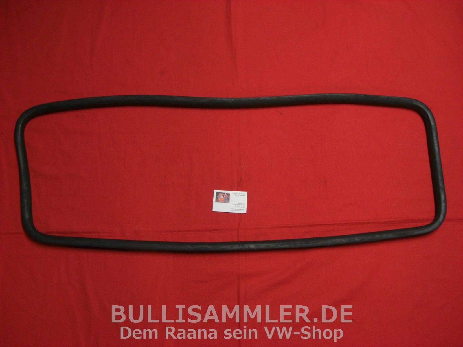 7509-1 hintere Seitenscheibe vorgef Ecken VW Bus Bulli T2 Dichtung mittlere