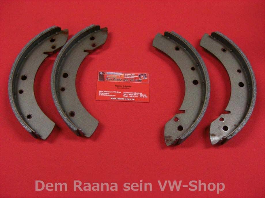 1234-000 hinten VW Käfer Ovali Karmann 01//54-10//57 Bremsbacken Satz vorne
