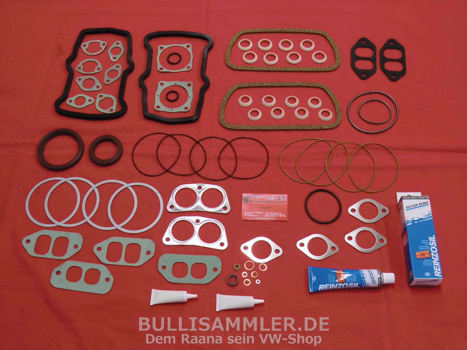 Motordichtsatz Motor Dichtung VW Bus T3 T2 WBX 1.9 2.1 DF DG DH DJ GW MV SP SR