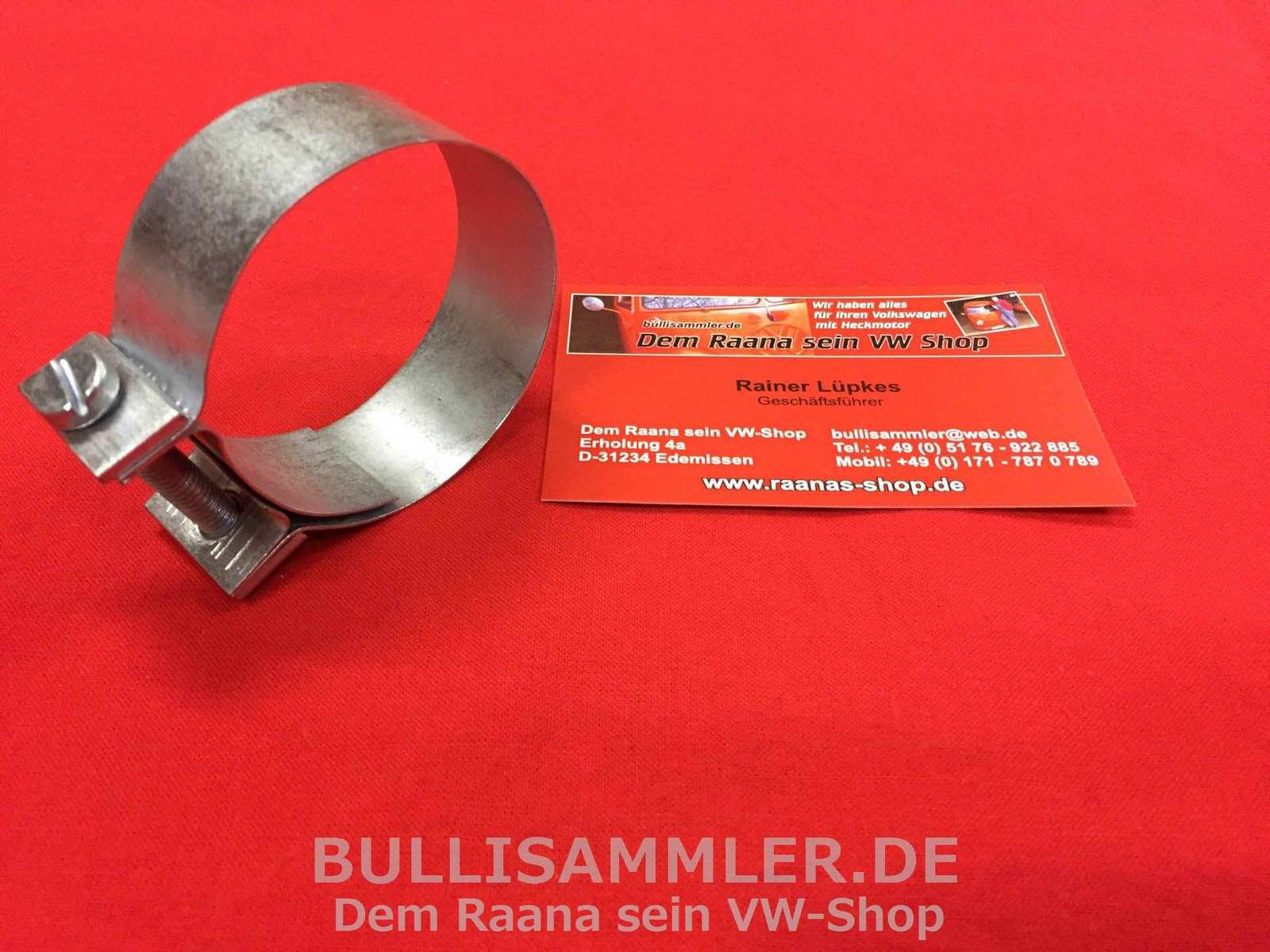 Heizschlauch schmal 25mm für VW Käfer Bus T1 T2 Luftfilter 1095-2