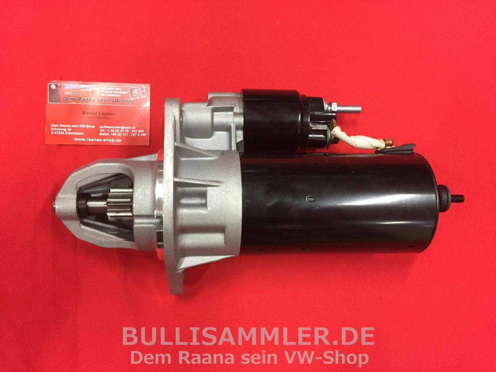 Bulli Diesel Starter VW Volkswagen T4 Kasten Anlasser