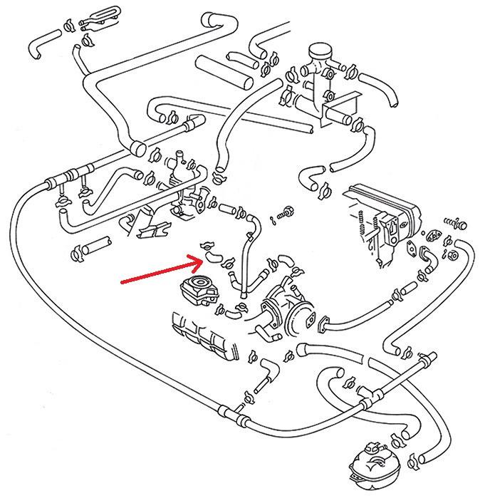 412 Khlwasser Schlauch Khlwasserschlauch Khlung Motorkhlung