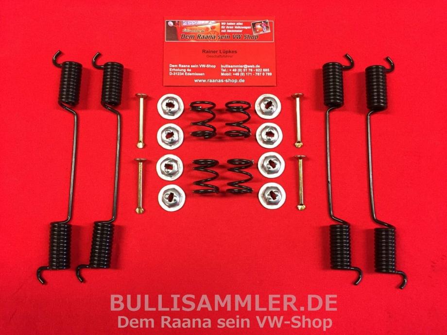 VW Bus T1 T2 03/55-07/70 Anbausatz Bremsbacken vorne (1239-10)