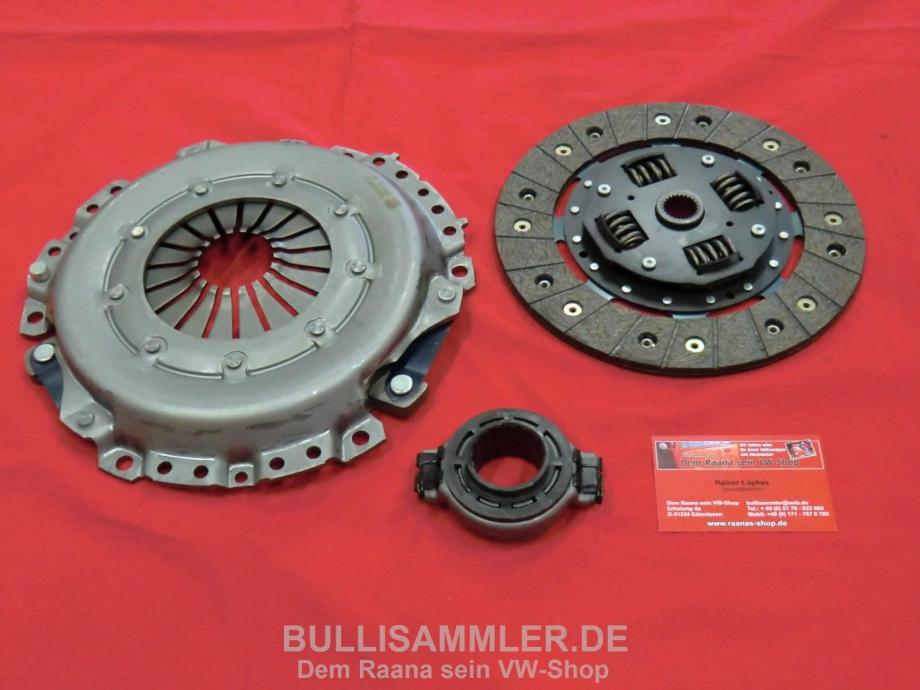 VW Bus T3 1.6-1.7 D/TD kompletter Kupplungssatz 215mm (-357)