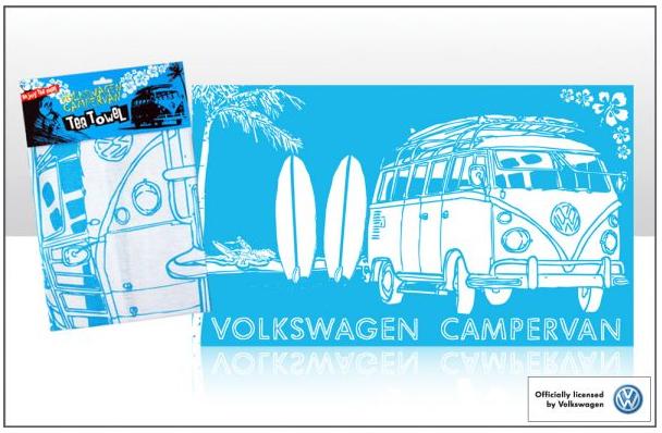 Geschirrtuch Motiv VW Bus T1