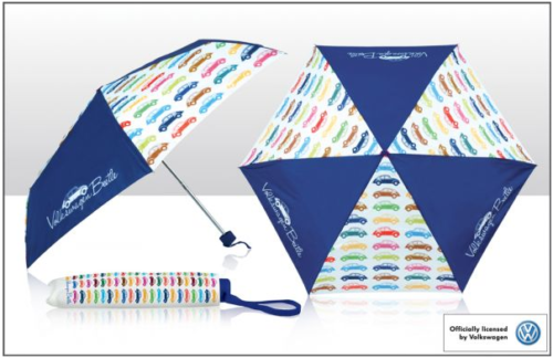 Kleiner Regenschirm VW Käfer