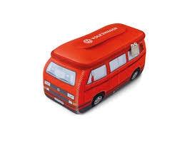 VW Bus T3 Neoprentasche rot