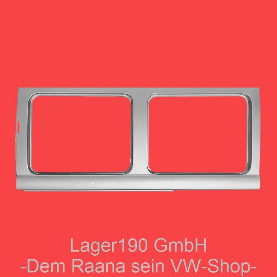 Rep.-Blech Außenblech Fenster (Zwei Fenster) links für VW Bus T1 (0890-236)