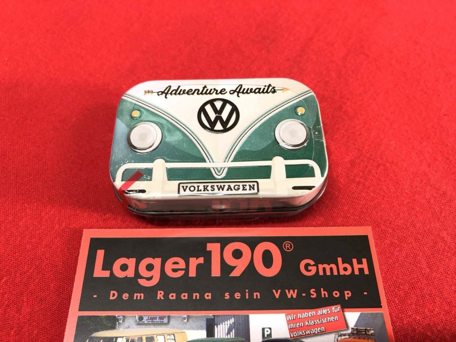 Pillendose VW Bus T1 mint