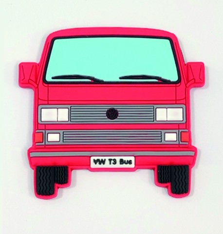 Softmagnet VW Bus T3 rot