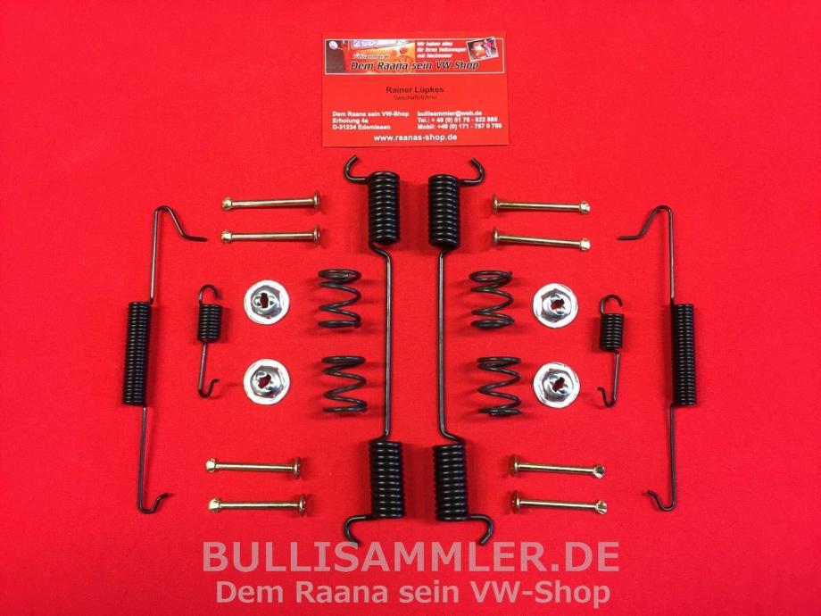 VW Bus T1 T2 64-79, Anbausatz Bremsbacken hinten (1239-11)