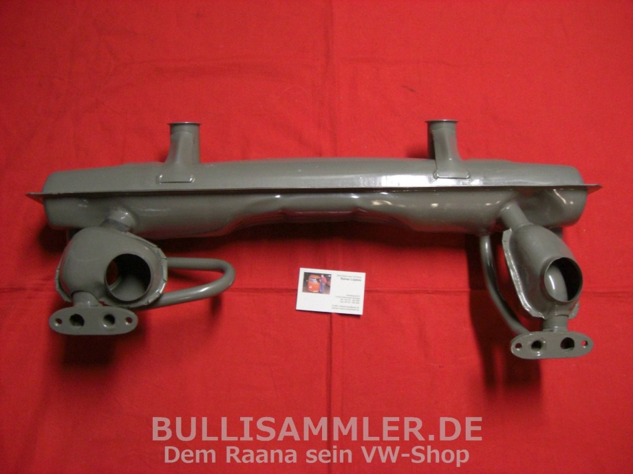 VW Käfer Auspuff doppelte Vorwärmung 1300-1600 (1052)