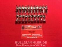 T1 64-67, 42 Stück Klammer Clips Türverkleidung (0409-5)