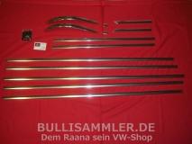 VW Bus T2a Clipper Zierleisten kompletter Satz (0404-35)
