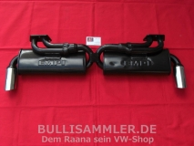 Auspuff EMPI Dual Quiet Pack für VW Bus T2 T3 mit Typ4 Motor (1017)