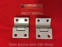 VW Bus T1 T2 Scharnier Motordeckel / Tresorklappe (0157-25)