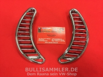 VW Käfer ab 73 Lüftungsgitter hinten, Halbmond Chrom (-013)
