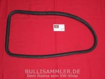 VW Käfer 72- Dichtung Seitenscheibe, links, mit Nut (0322-1)