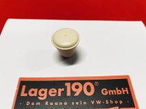 VW Käfer 58-67, Bus T1 55-66, Knopf Lichtschalter, Aschenbecher und Choke-Bedienung, Elfenbein 5mm (0636-951)