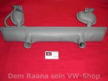 Schalldämpfer für VW Käfer 1300 - 1600 einfache Vorwärmung (1051)