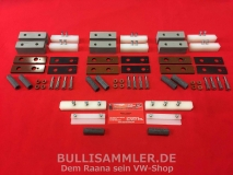 VW Bus T1 08.63-07.67 Rep.-Satz Faltdach Mechanik (0386-996)