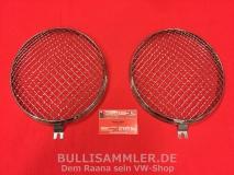 Scheinwerfergitter aus Edelstahl für VW Käfer, Bus T1 bis 07/67 (01-003)