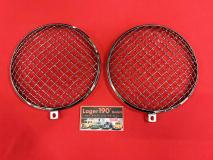 VW Käfer,T2 ab 68 Scheinwerfergitter Edelstahl (01-004)