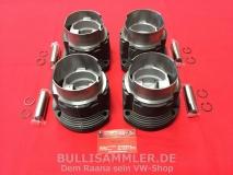 Kolben+Zylinder (flache Kolben) 94mm = 2,0 Liter für Typ4, Porsche 914