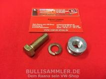 VW Käfer Bj. 07.61-12.65, Adapter für Gurtschraube (0573-200)