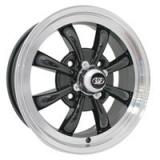 SSP EMPI GT 8-Spoke schwarz/poliert 4x130 5.5x15 - ohne TÜV -