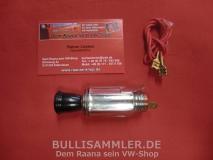 VW Käfer -67, Bus T1 -67 Zigarettenanzünder schwarz 12 Volt (-033)