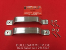 VW Bus T1 65 - 67 Türgriff Griff Zuzieher PAAR Aluminium (01-009)