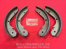 Käfer 1302 1303 Bremsbacken vorne, Typ3 & Typ4 hinten (1231)