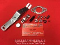 VW Käfer, Bus T1, T2, Montagesatz für Wärmetauscher links (1082)