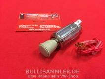 VW Käfer -67, T1 -67 Zigarettenanzünder grau 12 Volt (-040)