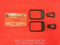 VW Käfer 60-67 Unterlagen Dichtung Gummi Türgriff (0717+0718)