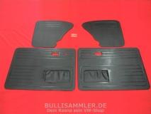 Türverkleidungen schwarz für VW Käfer ab 66- Türtafeln Seitenverkleidung (45-070)