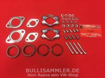 VW Käfer, Bus T1, Montage-, Anbausatz Auspuff komplett (1000)