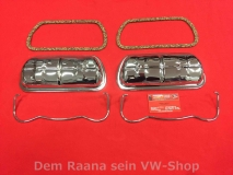 VW Käfer, Karmann, Kübel, Bus,Trike Typ1 verchromte Ventildeckel