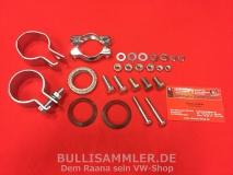 Anbausatz Endrohr für VW Bus T1, T2 Montagesatz (1001-20)