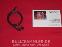 VW Käfer 11/71- Feder Kupplungshebel großer Durchmesser (1531)