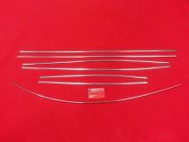 VW Käfer 8/67-7/72 Zierleisten Zierleistensatz Chrom poliert (0403-2)