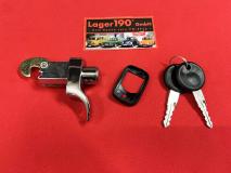 VW Käfer 08/71 - Ende Bauzeit Motorhaubengriff Schloss Motorhaube Motorklappe (0430)