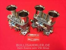 2 Weber 44 IDF 71 Doppelvergaser VW Käfer, Bus, Typ1, Typ4 NEU (26-002)