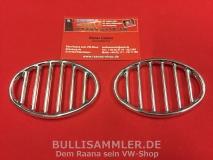 VW Käfer 10/52 - 07/71 Ziergitter Hupe Hupenziergitter (0408)