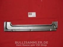VW Bus T1 Rep.-Blech Unterteil Klapptür Tür innen hinten (04-001)