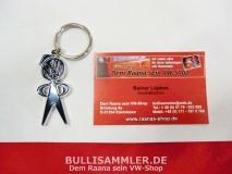 VW Schlüsselanhänger Original Nostalgie Männchen (-002)