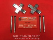 Anbausatz / Montagesatz Bremsklötze für VW Bus T2 ab 72-, T3 bis 87 (1247-21)