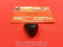 Knopf für Wischerschalter schwarz 4mm VW Käfer 53-67, T1 55-66 (17-120)